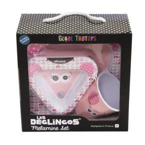 Les Deglingos, Zestaw z melaminy, myszka