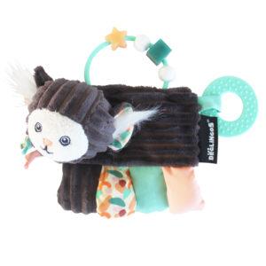 Les Deglingos, Zabawka z grzechotką i gryzakiem, małpka
