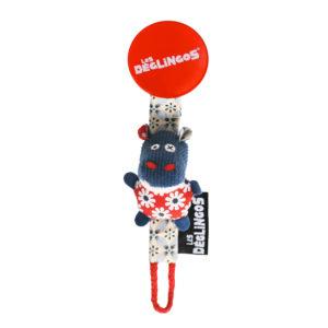 Les Deglingos, Zawieszka do smoczka hipopotam