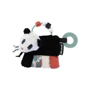Les Deglingos, Zabawka z grzechotką i gryzakiem, panda