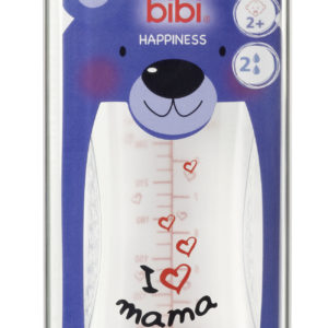 BIBI, Butelka antykolkowa, I love mama, 260ml