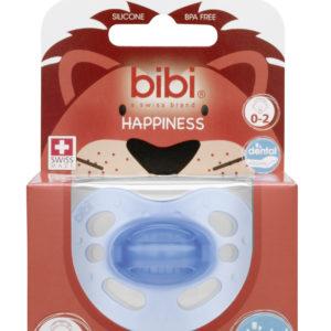 BIBI, Smoczek uspokajający ortodontyczny new born, niebieski