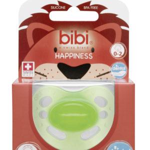 BIBI, Smoczek uspokajający ortodontyczny new born, zielony