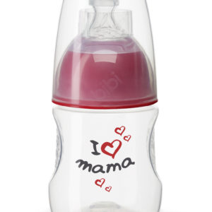 BIBI, Butelka antykolkowa, I love mama, 120ml