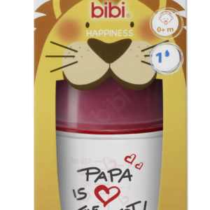 BIBI, Butelka antykolkowa, Papa is the best, 120ml