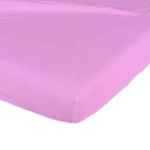 Candide, Prześcieradło bawełniane, 60×120 cm, różowe