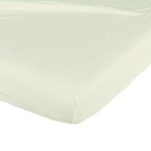 Candide, Prześcieradło bawełniane, 60×120 cm, beżowe