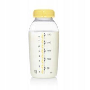 Wielorazowa butelka do przechowywania, mrożenia i podawania pokarmu 250ml