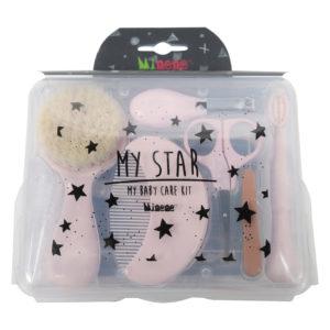 My Star – 6w1 Zestaw pielęgnacyjny dla niemowlaków i dzieci, Minene Różowy