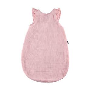 Candide Muślinowy Śpiworek na Lato 72cm Różowy