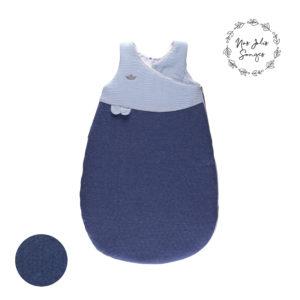 Śpiworek Pikowany 72cm Niebieski