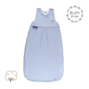 Candide Muślinowy Śpiworek na Lato 80-100 cm Niebieski