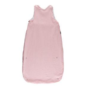 Candide Muślinowy Śpiworek na Lato 80-100 cm Różowy