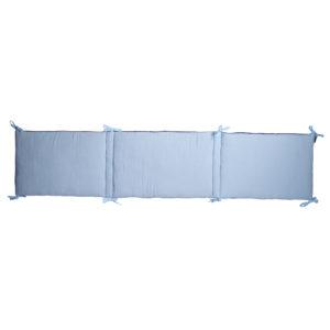 Ochraniacz do łóżeczka 180x40cm Niebieski