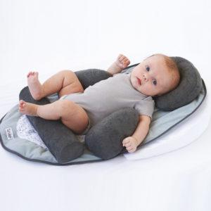 Tineo, Gniazdko baby nest z rolkami stabilizacyjnymi GRAFIT