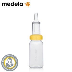 MEDELA Zestaw Specjalistyczny Butelka ze Smoczkiem przy Dysfunkcji Odruchu Ssania 150 ml