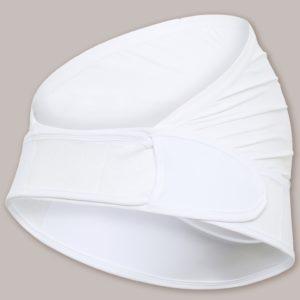 Carriwell Pas Ciążowy Podtrzymujący Regulowany Biały rozmiar L/XL