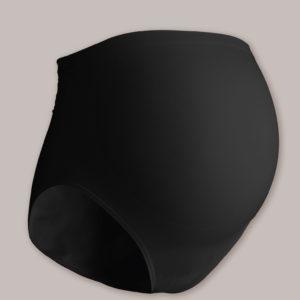 CARRIWELL Majtki dla Kobiet w Ciąży Czarne rozmiar L