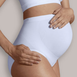 CARRIWELL Majtki dla Kobiet w Ciąży Białe rozmiar L