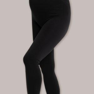CARRIWELL Legginsy dla Kobiet w Ciąży COMFORT Czarne rozmiar L