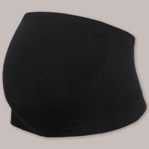 CARRIWELL Pas Ciążowy Bezszwowy Czarny rozmiar L