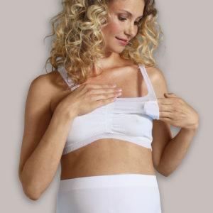 Carriwell, Biustonosz Ciążowy COMFORT BRA Biały rozmiar S