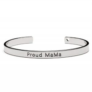 Proud MaMa Bransoletka BANGLE Srebrna