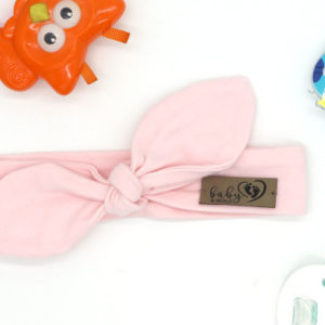 Baby in World Opaska Niemowlęca PIN UP – Różowa