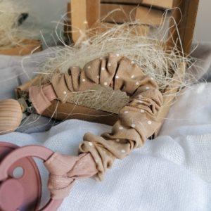 Baby in World Zawieszka Bawełniana do Smoczka Kropki