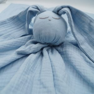 Baby in World Hug Me Bunny Niebieski