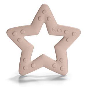 BIBS Baby Bitie  Gryzak dla Niemowlaka STAR BLUSH
