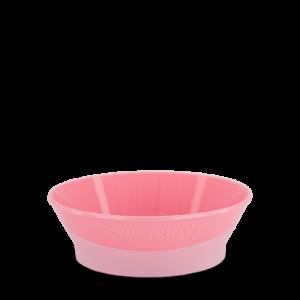 Twistshake Miska z pokrywką Pastel Pink 6+ mc