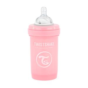 Twistshake Butelka Antykolkowa Pastel Pink 180ml