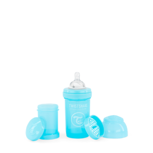 Twistshake Butelka Antykolkowa Pastel Blue 180ml