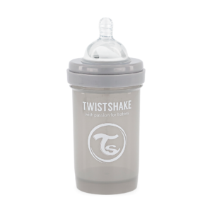 Twistshake Butelka Antykolkowa Pastel Grey 180ml