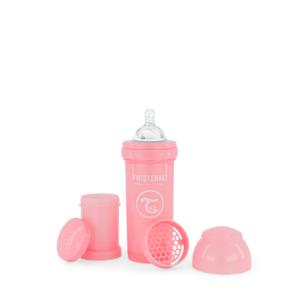 Twistshake Butelka Antykolkowa Pastel Pink 260ml