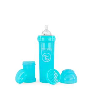 Twistshake Butelka Antykolkowa Pastel Blue 330ml