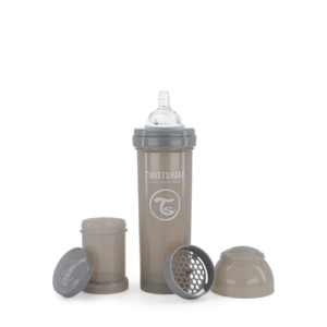 Twistshake Butelka Antykolkowa Pastel Grey 330ml