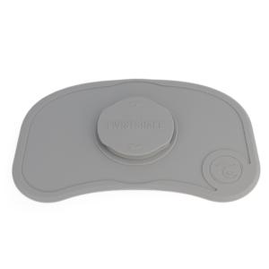 Twistshake Mata pod naczynia Click Mat Mini Pastel Grey