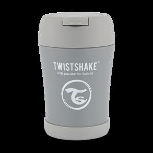 Twistshake Pojemnik termiczny na jedzenie Grey 350ml