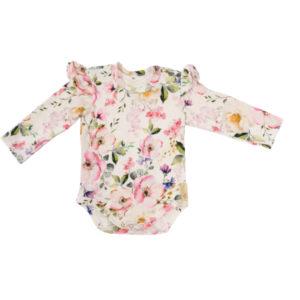 Baby in World Body Niemowlęce Długi rękaw Kwiat Jabłoni 56/62